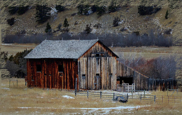 Fence Mixed Media - Building On Hold  by Kae Cheatham