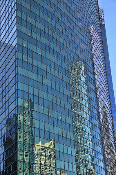 Photograph - Building Reflections # 5 by Allen Beatty