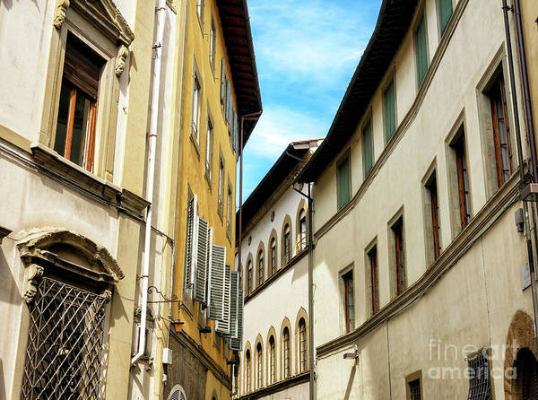 Photograph - Building Style In Florence by John Rizzuto