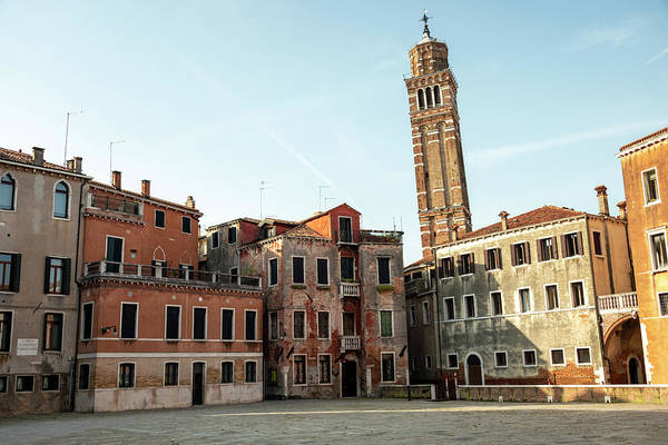 Wall Art - Photograph - Buildings In Venice by Svetlana Sewell