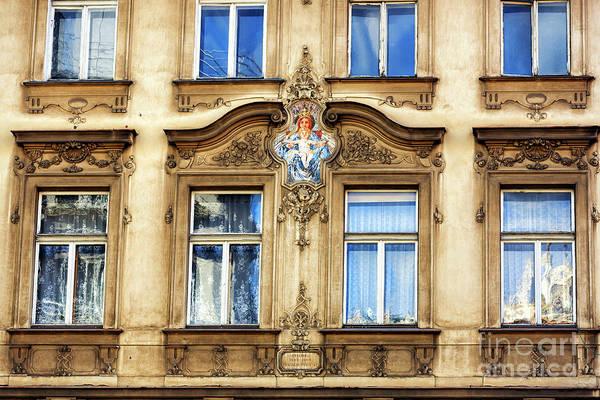Photograph - Built By Vratislav Pasovsky In Prague by John Rizzuto