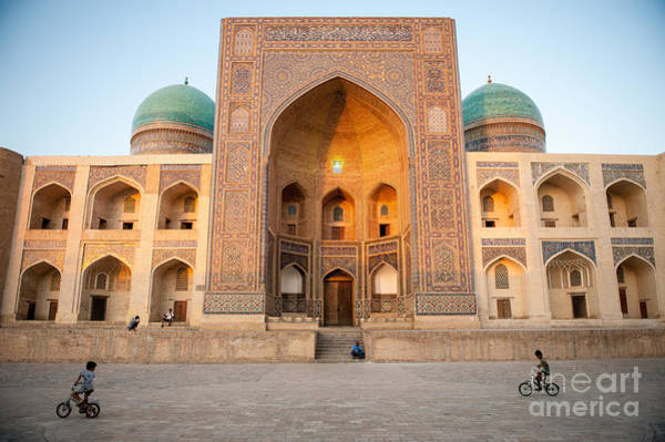 East Asia Wall Art - Photograph - Bukhara, Uzbekistan - July 30, 2012 by Lockenes