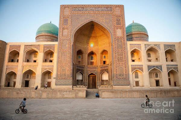 Wall Art - Photograph - Bukhara, Uzbekistan - July 30, 2012 by Lockenes