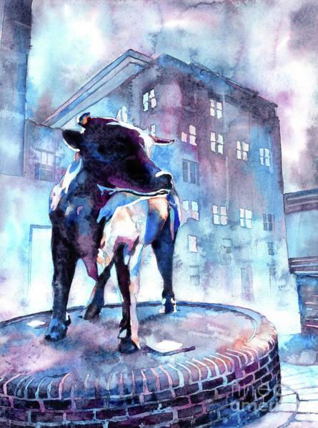 Wall Art - Painting - Bull Of Durham by Ryan Fox