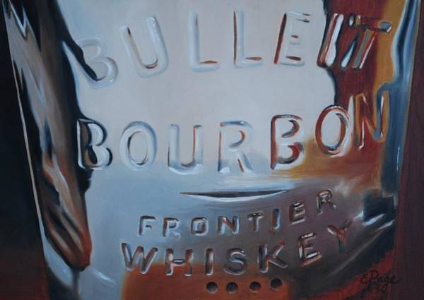 Painting - Bulleit by Emily Page