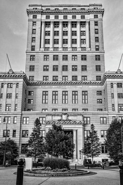 Photograph - Buncombe County Courthouse by Sharon Popek