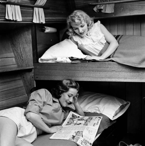 Reclining Photograph - Bunk Beds by John Drysdale