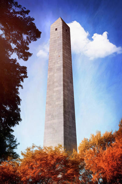 Wall Art - Photograph - Bunker Hill Monument Boston Massachusetts  by Carol Japp