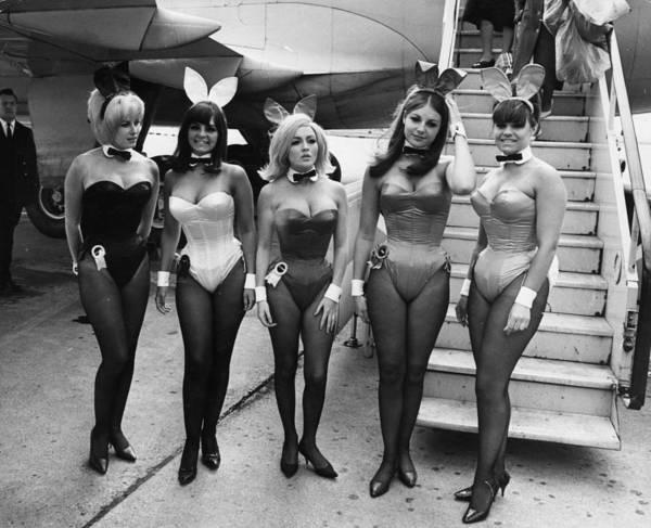 Arrival Photograph - Bunny Girls by Keystone