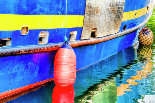 Photograph - Buoy Bumpers by Dee Browning