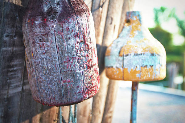 Wall Art - Photograph - Buoy Detail by Eric Gendron