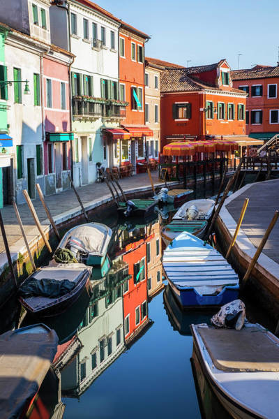 Photograph - Burano Canal   by Harriet Feagin