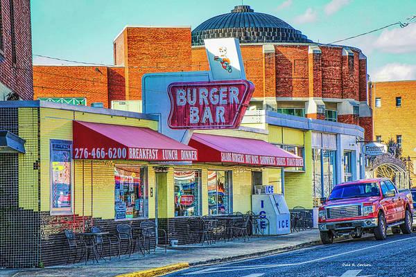 Photograph - Burger Bar by Dale R Carlson