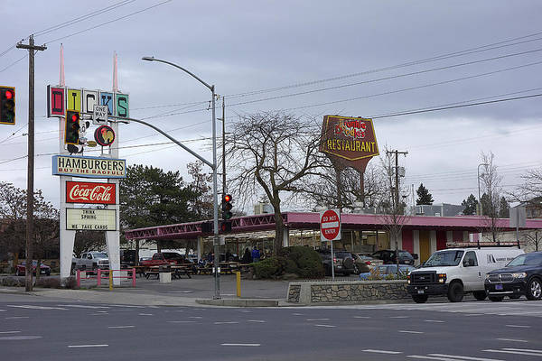 Wall Art - Photograph - Burgers By The Bagfull - Spokane by Daniel Hagerman