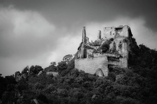 Art Print featuring the photograph Burgruine Durnstein by Borja Robles