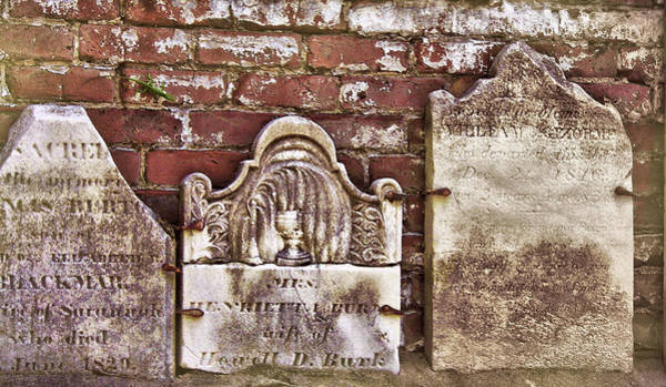 Photograph - Burial Wall by JAMART Photography