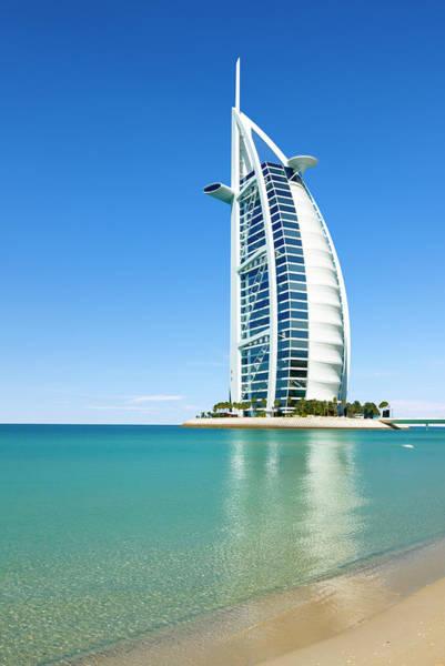 Luxury Hotel Photograph - Burj Al Arab Hotel by Jean-pierre Lescourret