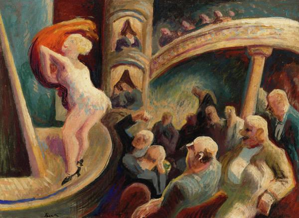 Wall Art - Painting - Burlesque, 1922 by Thomas Hart Benton
