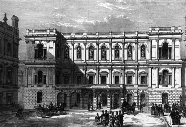18th Century Digital Art - Burlington House by Hulton Archive