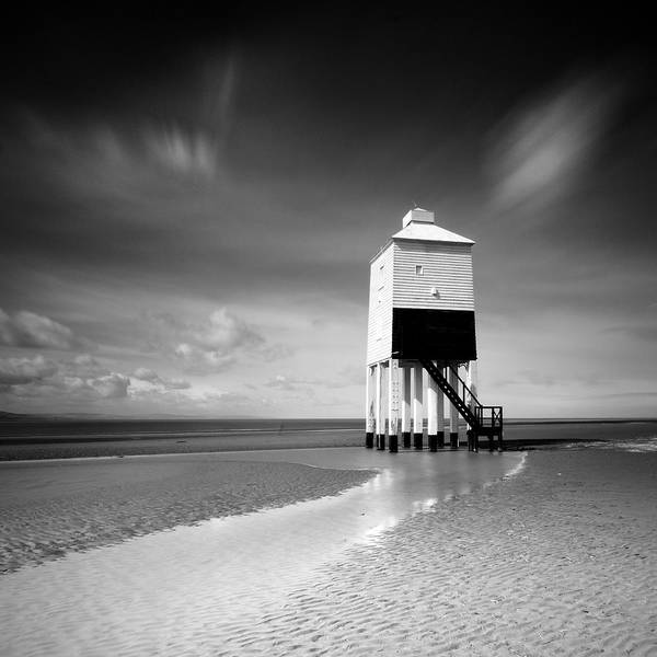 Low Tides Photograph - Burnham Lighthouse by Stu Meech