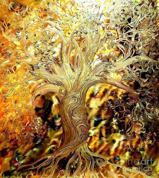 Painting - Burning Bush by Stefan Duncan