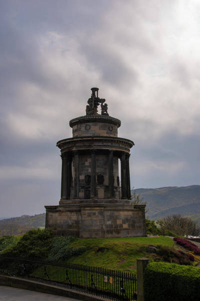 Photograph - Burns Monument - Edinburgh Scotland by Bill Cannon