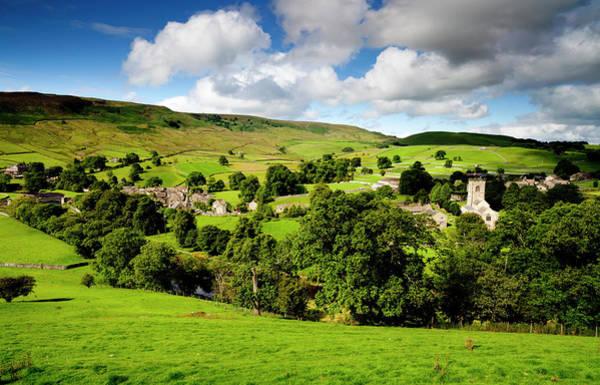 Wall Art - Photograph - Burnsall Village Yorkshire Dales by Simonbradfield
