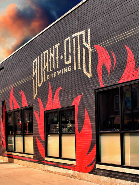 Wall Art - Photograph - Burnt Offerings Burnt City Brewing by William Dey