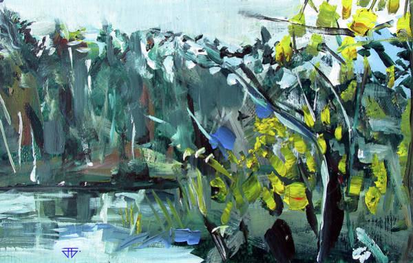 Painting - Burton Dock II by John Jr Gholson