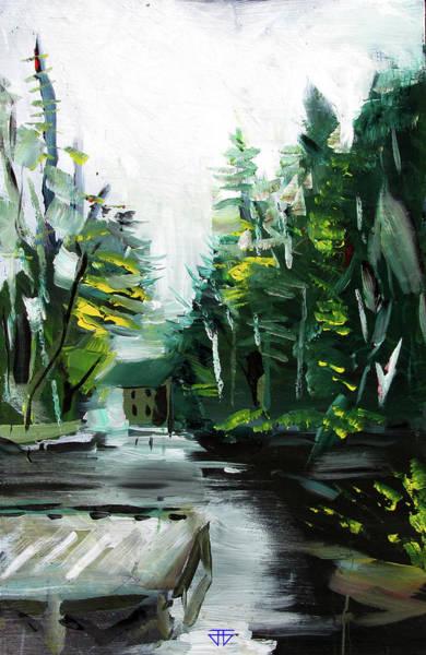 Painting - Burton Dock by John Jr Gholson
