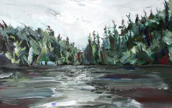Painting - Burton Lake by John Jr Gholson