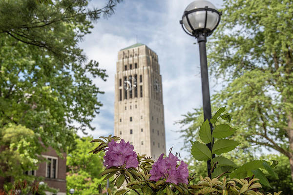 Wall Art - Photograph - Burton Memorial Tower University Of Michigan  by John McGraw