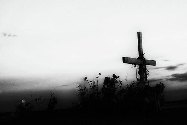 Photograph - Bury Me Not On The Lone Prairie by Natural Abstract Photography