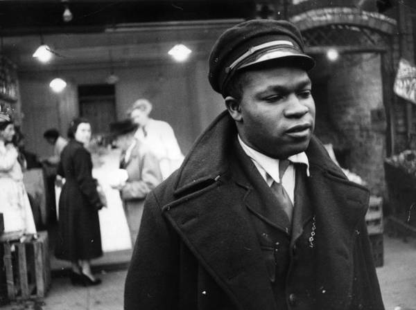 Reportage Photograph - Bus Conductor by Thurston Hopkins