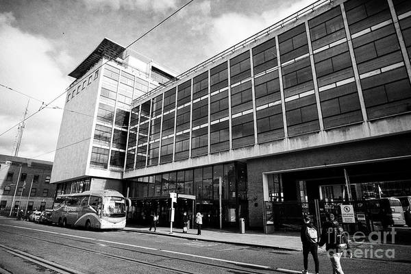 Wall Art - Photograph - Busaras Central Bus Station Dublin Republic Of Ireland by Joe Fox