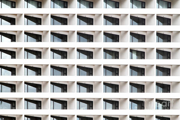 Object Wall Art - Photograph - Business Building Windows by Aoy Jira