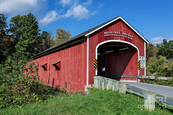 Wall Art - Photograph - Buskirk Covered Bridge by John Greim