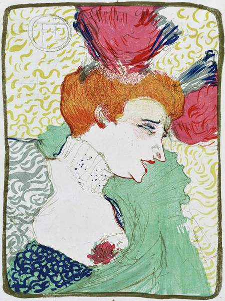 Wall Art - Painting - Bust Of Miss. Marcelle Lender - Digital Remastered Edition by Henri de Toulouse-Lautrec