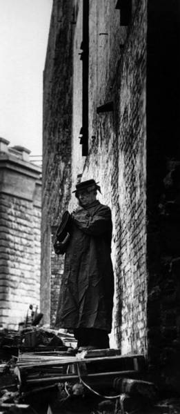 East Side Photograph - Buster Keaton In Nyc by I C Rapoport