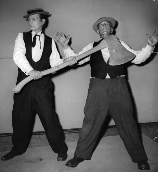 Acrobat Photograph - Buster Keaton by Keystone