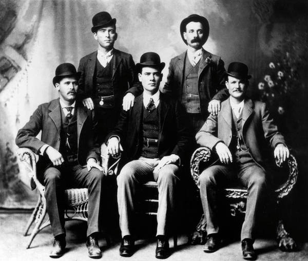 Photograph - Butch Cassidy And The Sundance Kid by Doc Braham