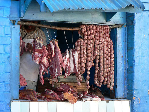 Raw Meat Photograph - Butcher Shop by Arturbo