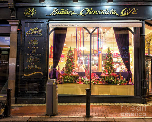 Wall Art - Photograph - Butlers Chocolate Cafe Dublin by John Rizzuto