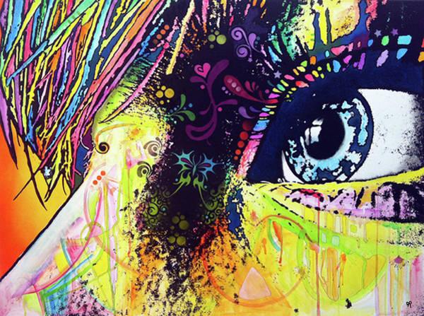 Painting - Butterfleye by Dean Russo Art