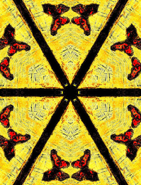Painting - Butterflies In The Sun by Artist Dot