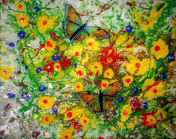 Painting - Butterfly Delight by Vincent Autenrieb
