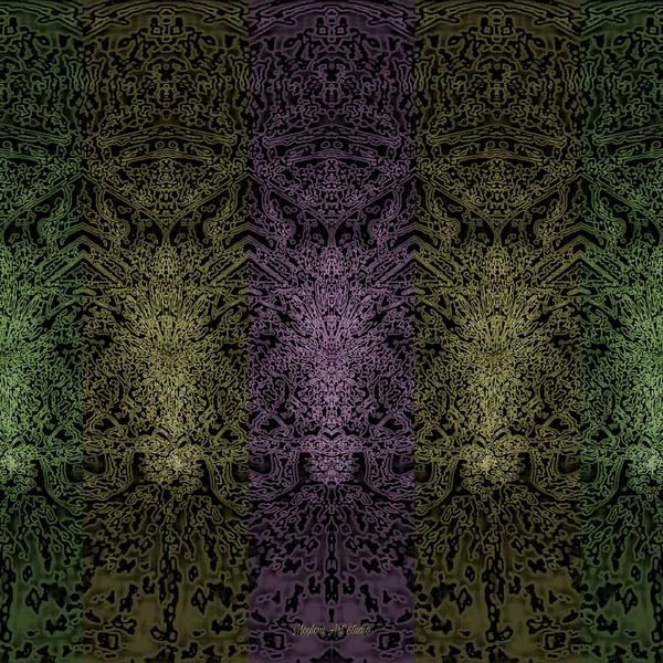 Digital Art - Butterfly Field 8 by Moylom Art Studio