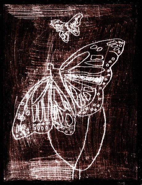 Digital Art - Butterfly Garden At Night 1 by Artist Dot