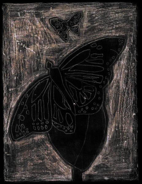 Digital Art - Butterfly Garden At Night 12 by Artist Dot