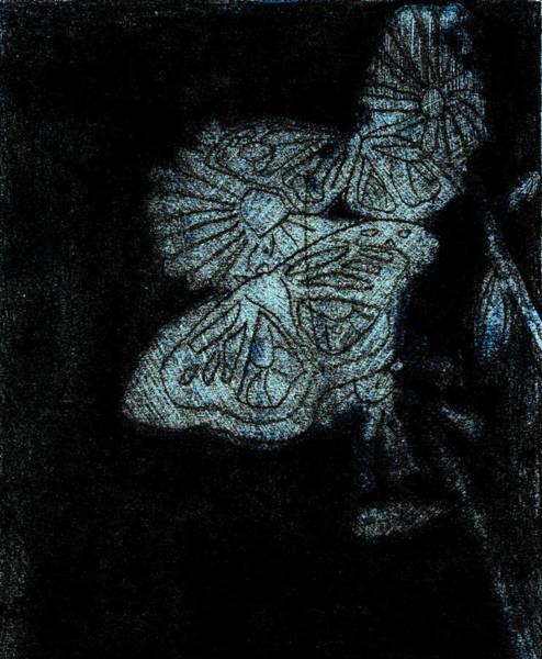 Digital Art - Butterfly Garden At Night 14 by Artist Dot